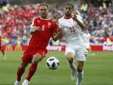 Com golaço, Suíça vira sobre a Sérvia e mantém Brasil na liderança do grupo