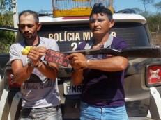 Polícia prende cinco pessoas e quatro armas de fogo em Crato, Brejo Santo e Campos Sales