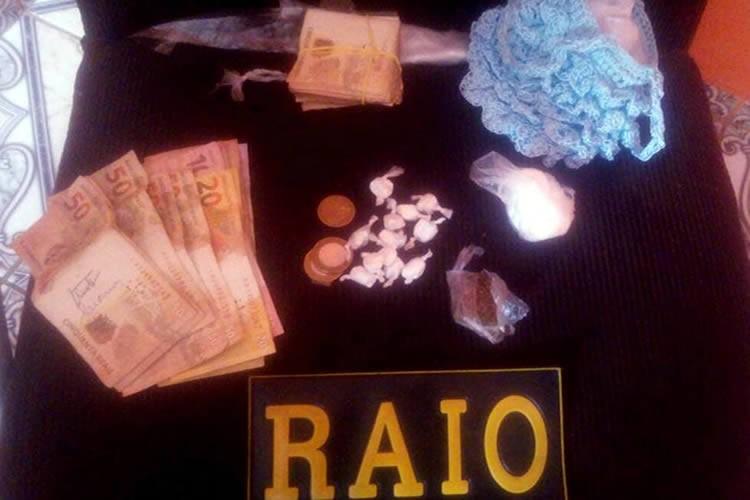 Menor apreendido com drogas no Juazeiro mais uma vez em quatro dias e tinha R$ 4,4 mil