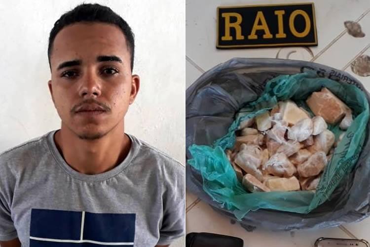 """Filho de """"Brinquedo"""" é preso com drogas em Brejo Santo e teria assumido """"negócios"""" do pai"""