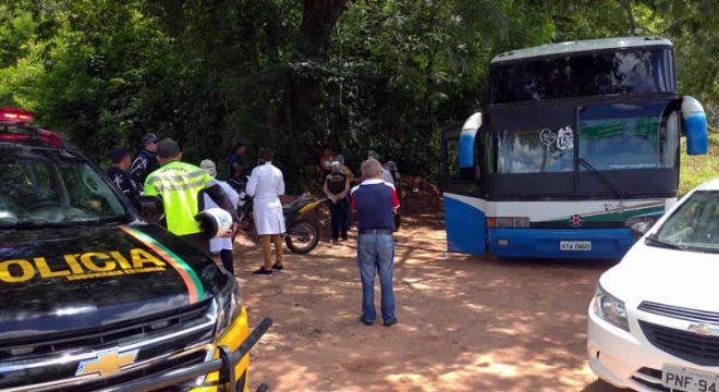 Ônibus é barrado pelo Demutran ao entrar no Crato com passageiros vindos de São Paulo