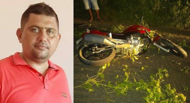 Comerciante morre após cair de moto na CE-282, em Icó