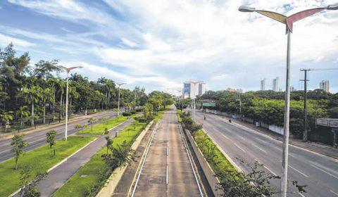 Acidentes de trânsito caem 61% durante isolamento social