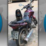 Polícia de Barbalha prende ladrão e recupera a moto que roubou dizendo ser doido