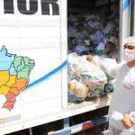Educação de Juazeiro continua entrega de Alimentação Escolar e atendimento pedagógico