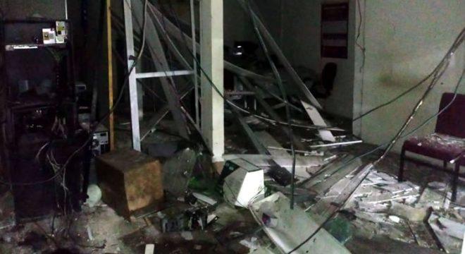 Bandidos armados explodem agência bancária de Umirim, no norte do Ceará