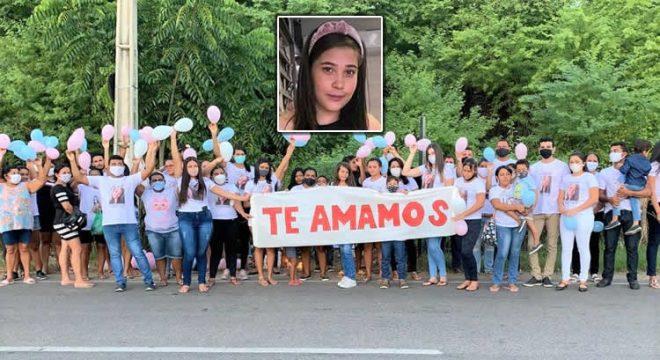 Uma semana após acidente fatal em Juazeiro, família de Vanessa pediu justiça em manifesto