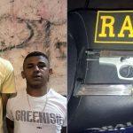 Acusado de crimes no Cariri é preso novamente em Juazeiro com pistola e um comparsa