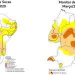 Áreas com seca diminuem no Ceará em abril, aponta estudo do Monitor de Secas