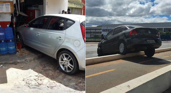 Acidentes em Juazeiro e Crato com danos materiais no fim de semana