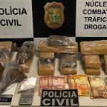 Quatro pessoas presas em Nova Olinda com 9 Kg de maconha e cocaína