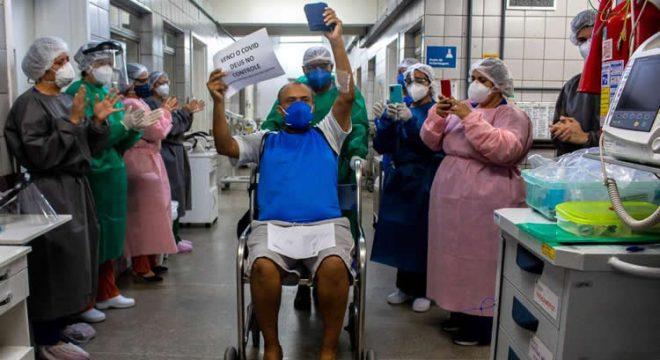 Altas de pacientes com Covid-19 sobe 13% no Ceará nas últimas duas semanas de maio