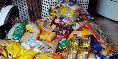 Funcionário da Pefoce em Juazeiro arrecada alimentos para famílias carentes