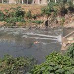 Mulher de 30 anos pula da ponte no lamaçal do Riacho Timbaúbas em Juazeiro