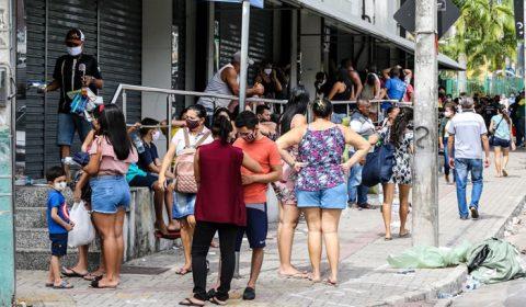 No Ceará, todas as Áreas Descentralizadas de Saúde tiveram aumento na incidência da Covid-19
