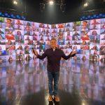 Luciano Huck anuncia retorno do 'Caldeirão do Huck' aos Estúdios Globo