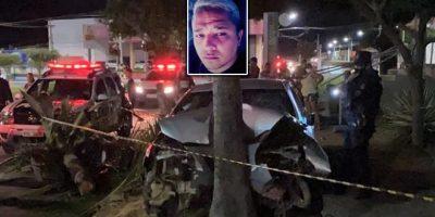 Uma perseguição, acidente e motorista é morto a tiros em Juazeiro do Norte