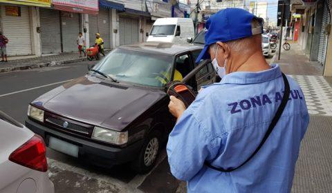 Zona Azul volta a atuar em Juazeiro do Norte apesar do decreto de isolamento rígido