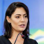 Primeira-dama Michelle Bolsonaro anuncia que seu exame de Covid-19 deu negativo