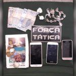 PM apreende maconha e cocaína e prende casal no Iguatu