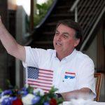 Em festa da independência dos EUA, Bolsonaro exalta Trump