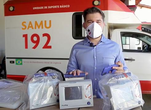 Deputado Pedro Bezerra garante respiradores para Crato, Barbalha e mais 6 municípios