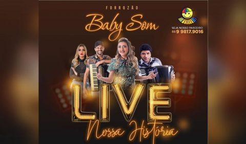Live da Banda Baby Som neste sábado (11)
