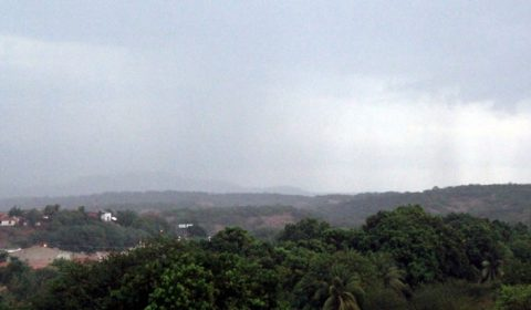 Chove em mais de 30 cidades cearenses nas últimas 24 horas