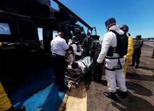 Filipino passa mal em alto-mar e é resgatado pela Marinha do Brasil no Ceará