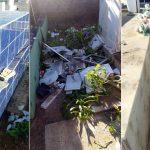 Dez túmulos no Cemitério de Potengi foram violados esta madrugada