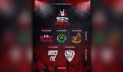 Rock In Brejo realiza primeira semana de cultura rock com lives