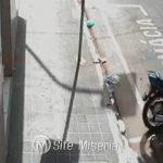 Veja o flagrante de homem furtando moto no centro de Juazeiro do Norte