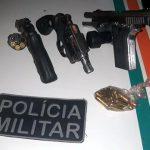 Polícia Militar troca tiros com três homens durante ação e um suspeito morre