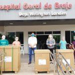 Governo do Ceará envia 10 respiradores para o município de Brejo Santo