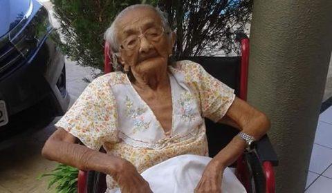 Aos 115 anos, cearense é reconhecida como a pessoa mais velha do Brasil e 3ª do mundo