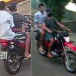 Dupla rouba moto em Juazeiro e desfila pelas ruas da cidade