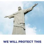 Trump promete proteger Cristo Redentor em anúncio de campanha
