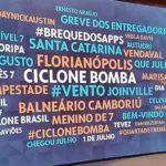 Globo tira Flamengo da nuvem de palavras de Fátima Bernardes