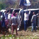 Motorista que capotou Hilux em Caririaçu segue internado no HRC em Juazeiro