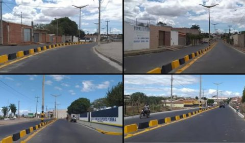 Em Juazeiro do Norte, reforma da Avenida José Bezerra segue em fase de conclusão
