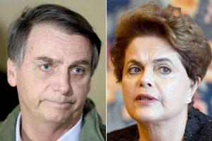 PGR quer arquivamento de ação em que Bolsonaro compara Dilma a cafetina