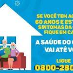 Crato disponibilizará atendimento domiciliar para pessoas com mais de 60 anos