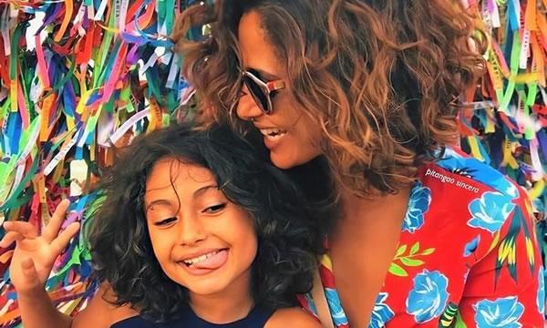 Camila Pitanga e filha Antônia são diagnosticadas com malária