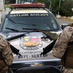 Polícia apreende armas em Campos Sales e Caririaçu