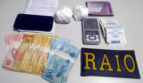 Equipe do BPRaio apreende cocaína dentro de guarda roupas no interior do Ceará