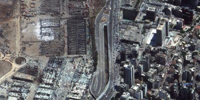 Explosão atingiu quase metade de Beirute e deixou 300 mil desabrigados