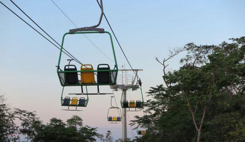 Obras em bondinhos e teleférico no interior do Ceará têm cronogramas em atraso
