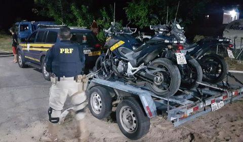 PRF apreende 26 motocicletas e ciclomotores que trafegavam de forma irregular