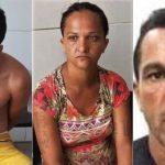 PM prende em Juazeiro dois homens e uma mulher acusados de furtos e roubos