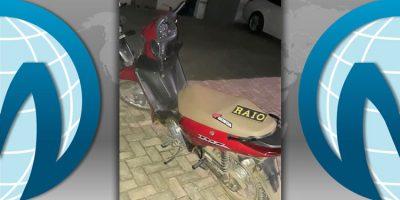 A motoneta recuperada em Crato tinha sido roubada em Juazeiro